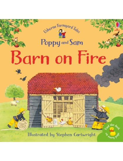 Farmyard Tales Stories Barn on Fire