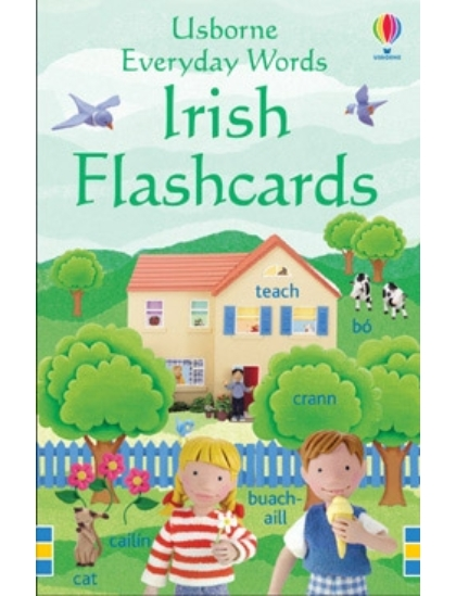Everyday Words in Irish Flashcards