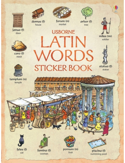 First Thousand Words in Latin Sticker Book