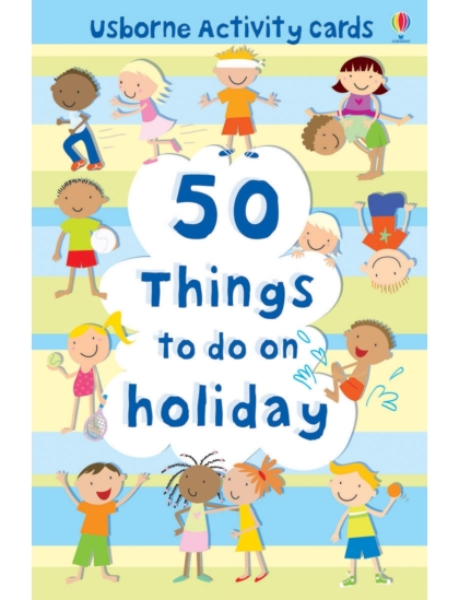50 things to do on holiday Cards
