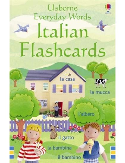 Everyday Words in Italian Flashcards