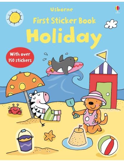 First Sticker Book Holiday