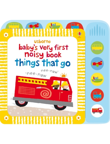 BVF Noisy Book Things That Go