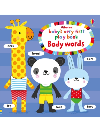 BVF Play Book Body Words