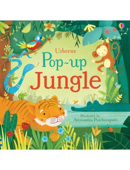 Pop-up Jungle (3D-s lapozó mesekönyv)