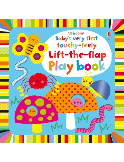 BVF Touchy-Feely Lift-the-flap play book