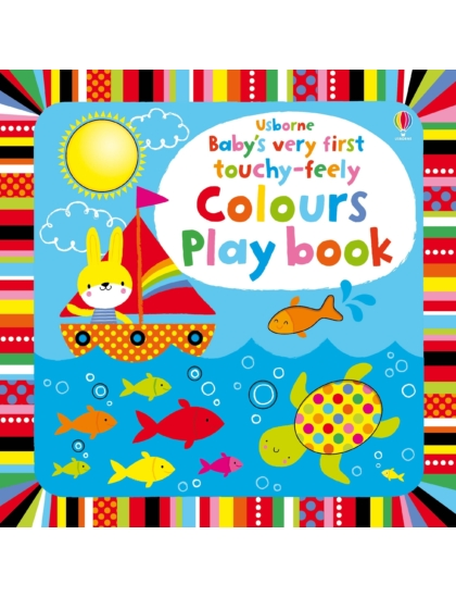 BVF Touchy-Feely Colours Play book