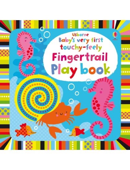 BVF Touchy-Feely Fingertrail Play book