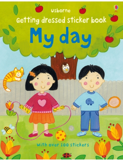 Getting Dressed Sticker Book My Day