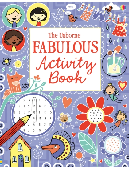 Fabulous Activity Book