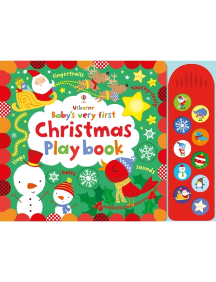 BVF Touchy-Feely Christmas Play book