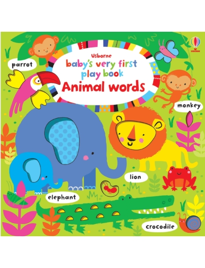 BVF Play Book Animal words