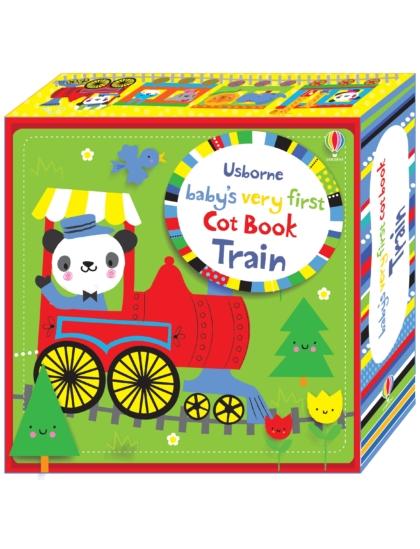 BVF Cot Book Train