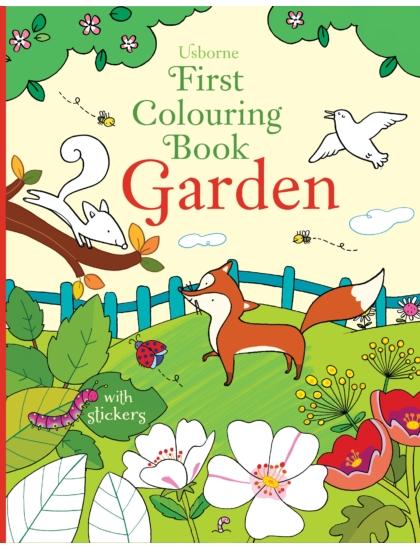 First Colouring Book Garden