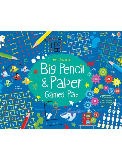 Big Pencil and Paper Games Pad