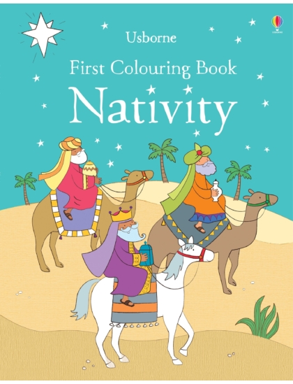 First Colouring Book Nativity