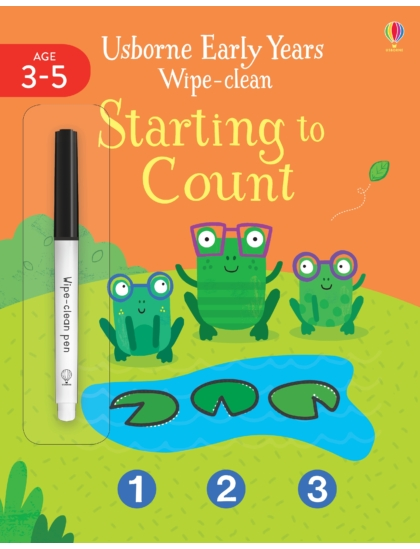 Wipe-Clean Early Years Starting to Count